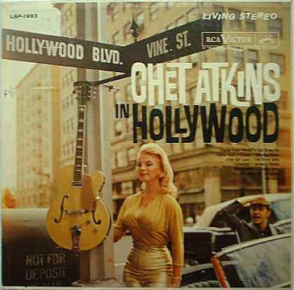 Weirdest Album Covers - Atkins, Chet (In Hollywood)