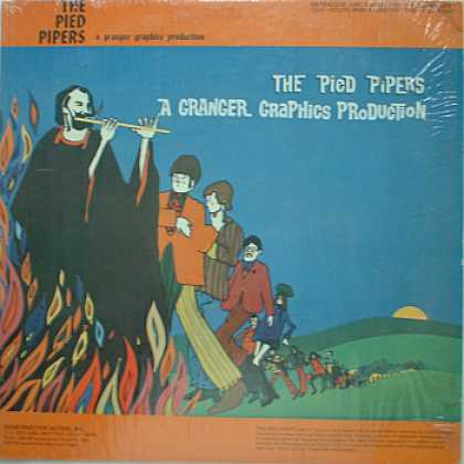 Weirdest Album Covers - PIED PIPERS