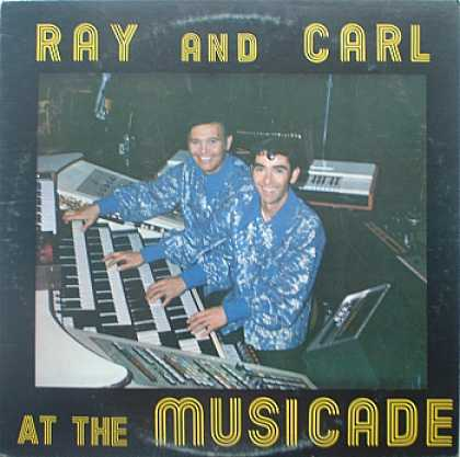 Weirdest Album Covers - Ray And Carl (At The Musicade)