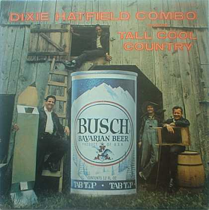 Weirdest Album Covers - Hatfield, Dixie Combo (Tall Cool Country)