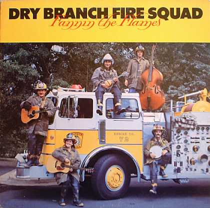 Weirdest Album Covers - Dry Branch Fire Squad (Fannin' The Flames)