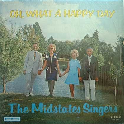 Weirdest Album Covers - Midstates Singers (Oh, What A Happy Day)
