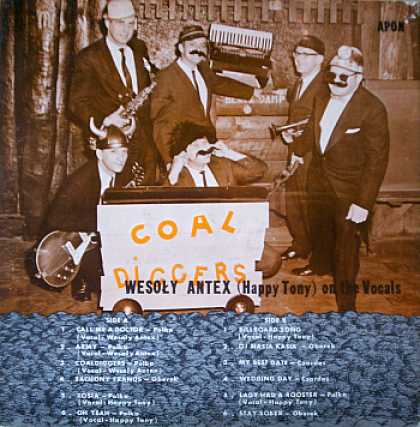"Weirdest Album Covers - Coal Diggers (Feat Wesoly ""Happy Tony"" Antex)"