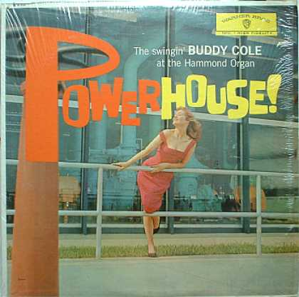 Weirdest Album Covers - Cole, Buddy (Powerhouse!)