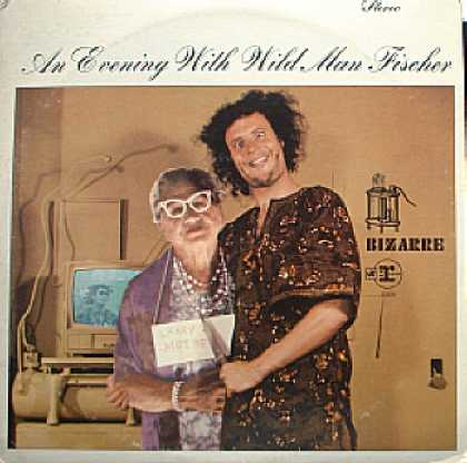 Weirdest Album Covers - Fischer, Wild Man (An Evening With...)