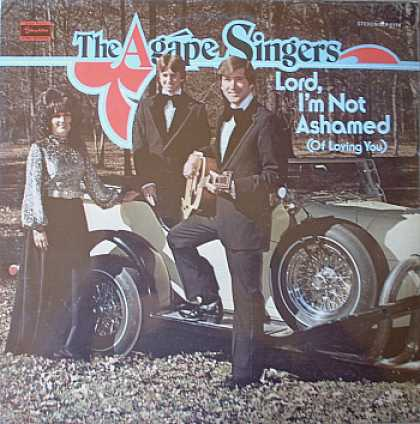 Weirdest Album Covers - Agape Singers (Lord, I'm Not Ashamed)