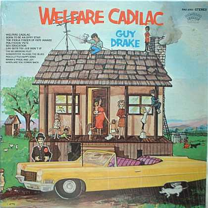 Weirdest Album Covers - Drake, Guy (Welfare Cadillac)
