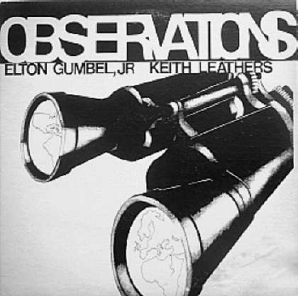 Weirdest Album Covers - Gumbel, Elton Jr. & Keith Leathers (Observations)