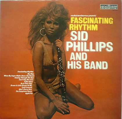 Weirdest Album Covers - Phillips, Sid (Fascinating Rhythm)