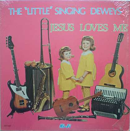 Weirdest Album Covers - Deweys , The Little Singing (Jesus Loves Me)
