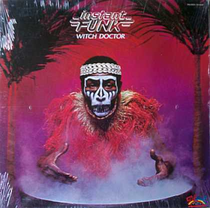 Weirdest Album Covers - Instant Funk (Witch Doctor)