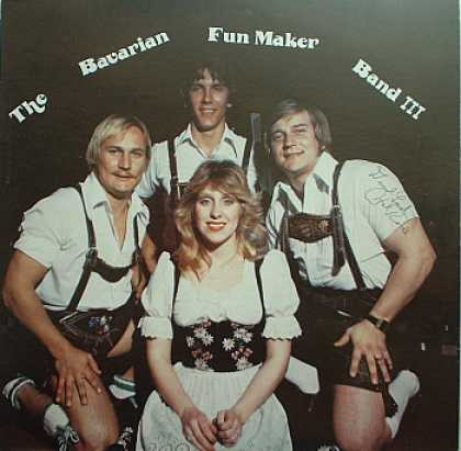 Weirdest Album Covers - Bavarian Fun Maker Band (III)