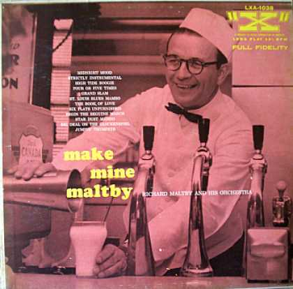 Weirdest Album Covers - Maltby, Richard (Make Mine Maltby)