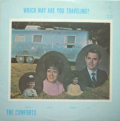 Weirdest Album Covers - Comforts, The( Which Way Are You Traveling?)