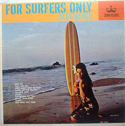 Weirdest Album Covers - Keack, Alex (For Surfers Only)
