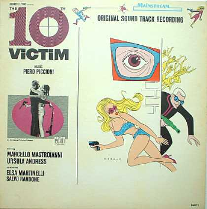 Weirdest Album Covers - 10th Victim