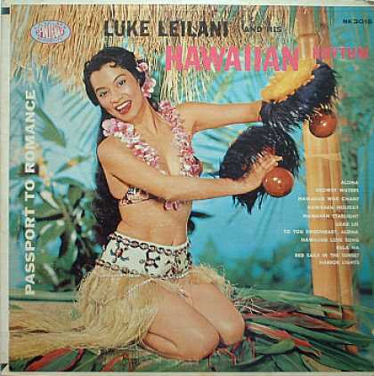 Weirdest Album Covers - Leilani, Luke (Passport To Romance)