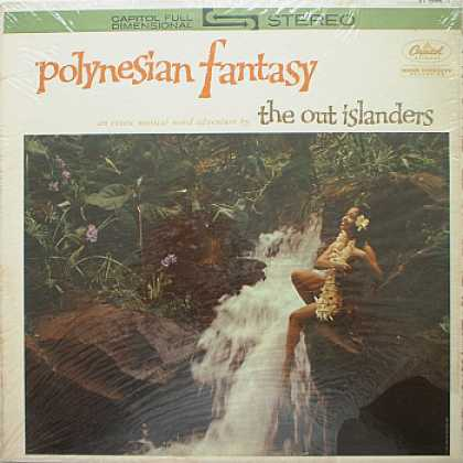 Weirdest Album Covers - Out Islanders (Polynesian Fantasy)