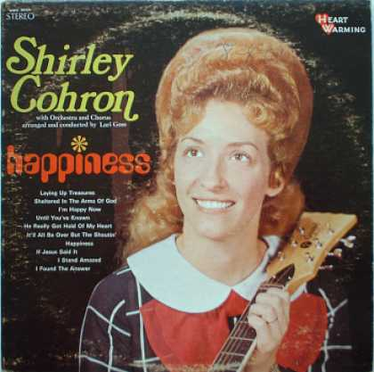 Weirdest Album Covers - Cohron, Shirley (Happiness)