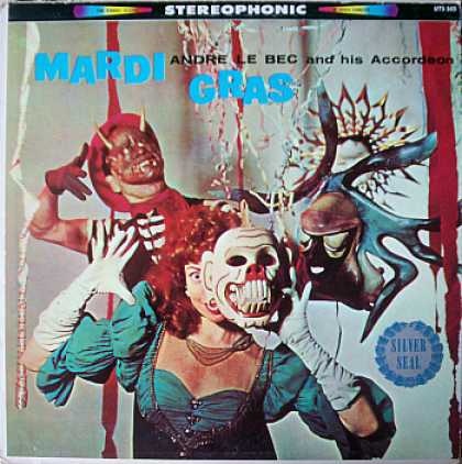 Weirdest Album Covers - Le Bec, Anre (Mardi Gras)
