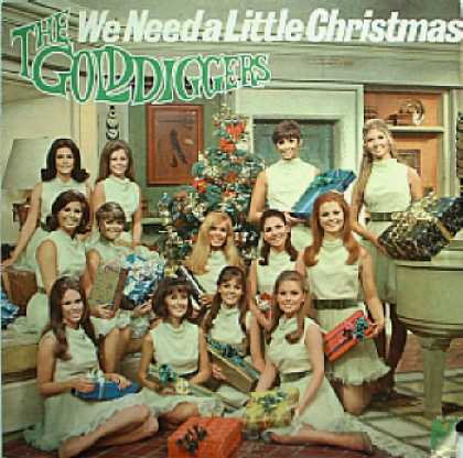 Weirdest Album Covers - Golddiggers (We Need A Little Christmas)