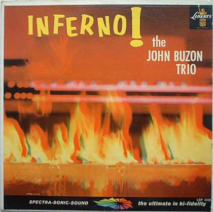 Weirdest Album Covers - Buzon, John Trio (Inferno!)