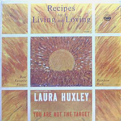 Weirdest Album Covers - Huxley, Laura (Recipes For Living And Loving)