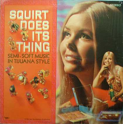 Weirdest Album Covers - Squirt Does Its Thing