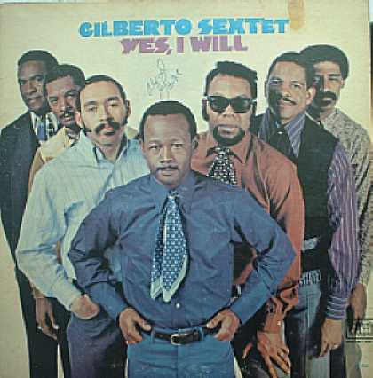 Weirdest Album Covers - Gilberto Sextet (Yes, I Will)