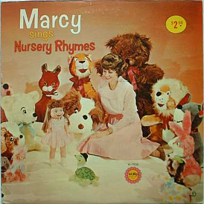 Weirdest Album Covers - Marcy (Sings Nursery Rhymes)