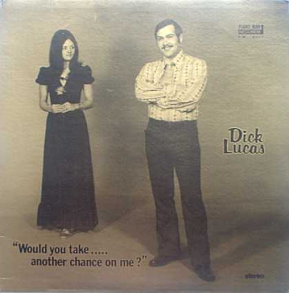 Weirdest Album Covers - Lucas, Dick (Would You Take...Another Chance On Me?)