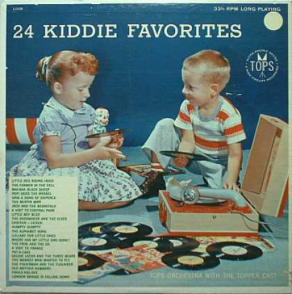 Weirdest Album Covers - 24 Kiddie Favorites