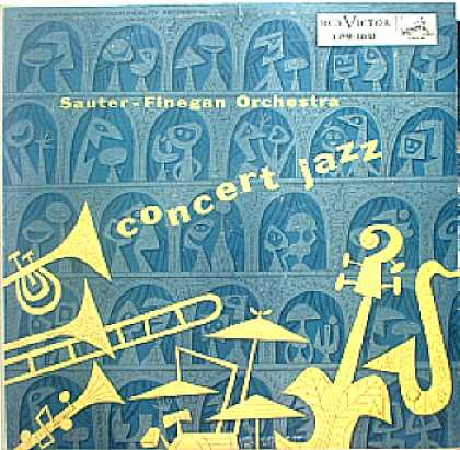 Weirdest Album Covers - Sauter-Finegan Orchestra (Concert Jazz)