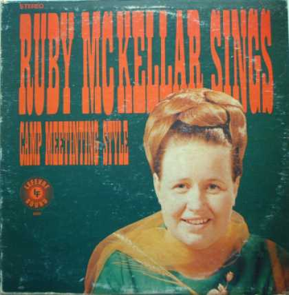 Weirdest Album Covers - McKellar, Ruby (Ruby McKellar Sings Camp Meeting Style)