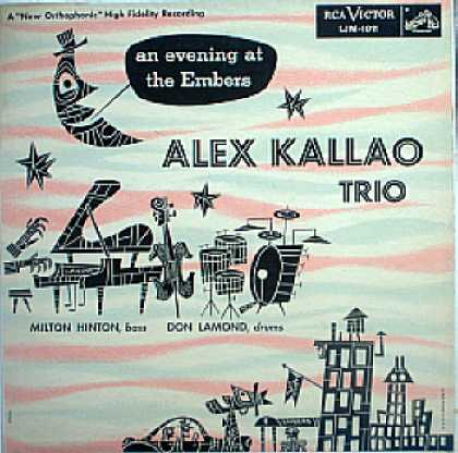 Weirdest Album Covers - Kallao, Alex Trio (An Evening At The Embers)