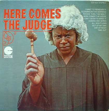 Weirdest Album Covers - Here Comes The Judge