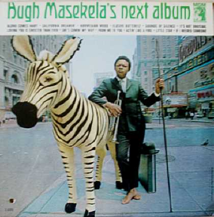 Weirdest Album Covers - Masekela, Hugh (Next Album)