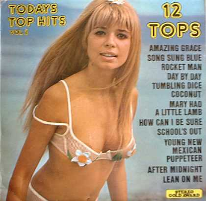 Weirdest Album Covers - 12 Tops (Today's Top Hits, vol 2)