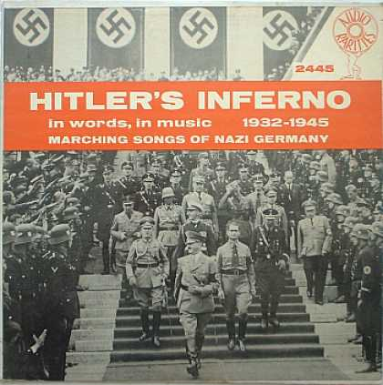Weirdest Album Covers - Hitler's Inferno (Vol. 1)