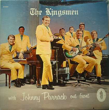 Weirdest Album Covers - Kingsmen (With Johnny Parran Out Front)