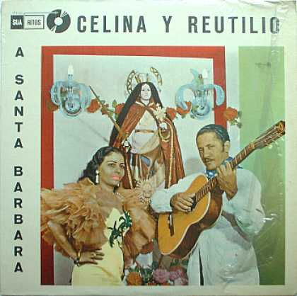 Weirdest Album Covers - Celina y Reutilio (A Santa Barbara)