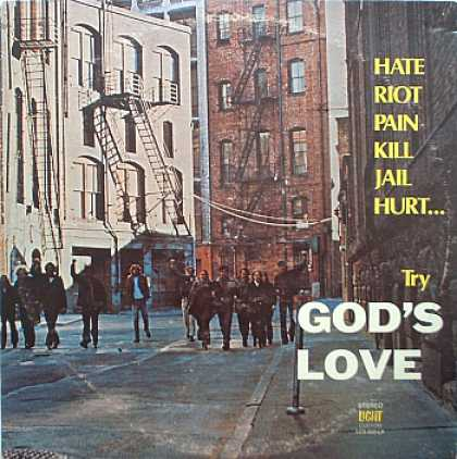 Weirdest Album Covers - Northwest District Assembly Of God (Try God's Love)