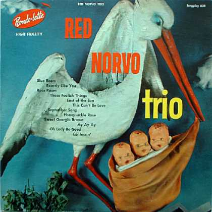 Weirdest Album Covers - Norvo, Red Trio (self-titled)
