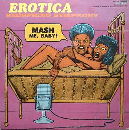 Weirdest Album Covers - Erotica - Bedspring Symphony