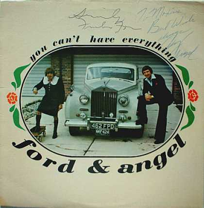 Weirdest Album Covers - Ford & Angel (You Can't Have Everything)
