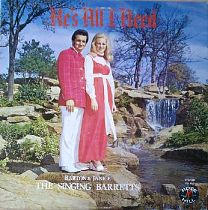Weirdest Album Covers - Singing Barretts (He's All I Need )