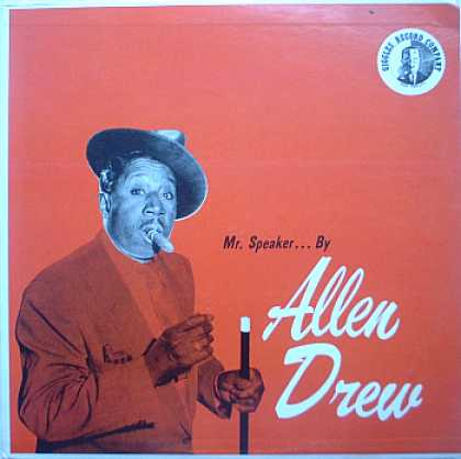 Weirdest Album Covers - Drew, Allen (Mr. Speaker...)