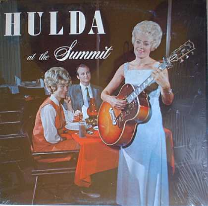 Weirdest Album Covers - Hulda (At the Summit)