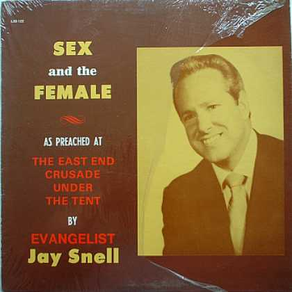 Weirdest Album Covers - Snell, Jay (Sex And The Female)