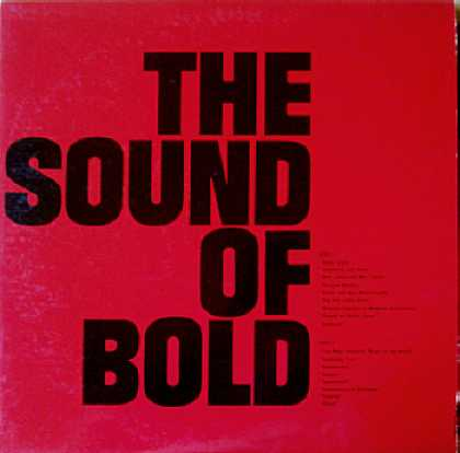 Weirdest Album Covers - Sound Of Bold
